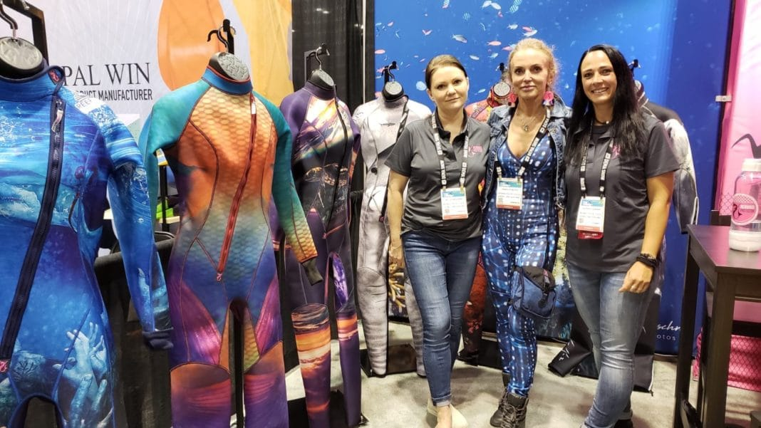 Mermaid Protector at DEMA Show 2019