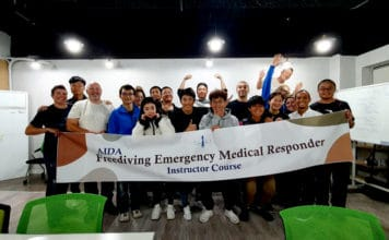 First AIDA Freediving Emergency Medical Responder Instructor Courses of 2020