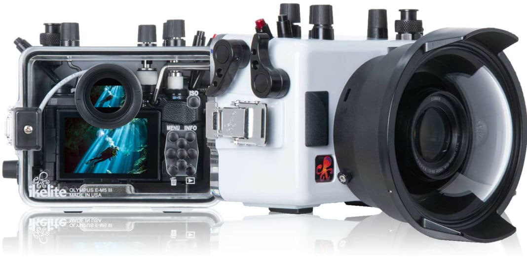 Ikelite's 200DLM/A Underwater Housing For Olympus OM-D E-M5 Mark III Camera Now Shipping