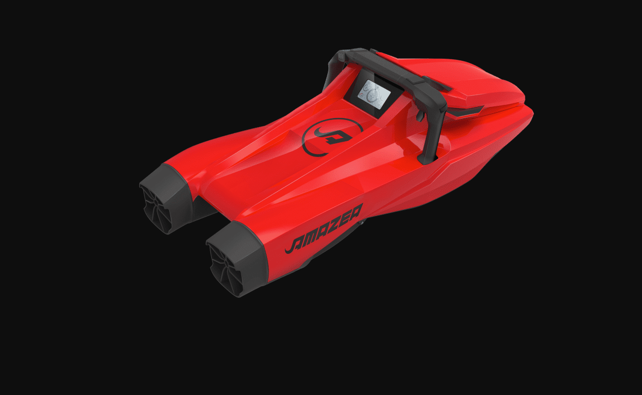 AMAZEA, World's First 3D-Printed Underwater Scooter Unveiled