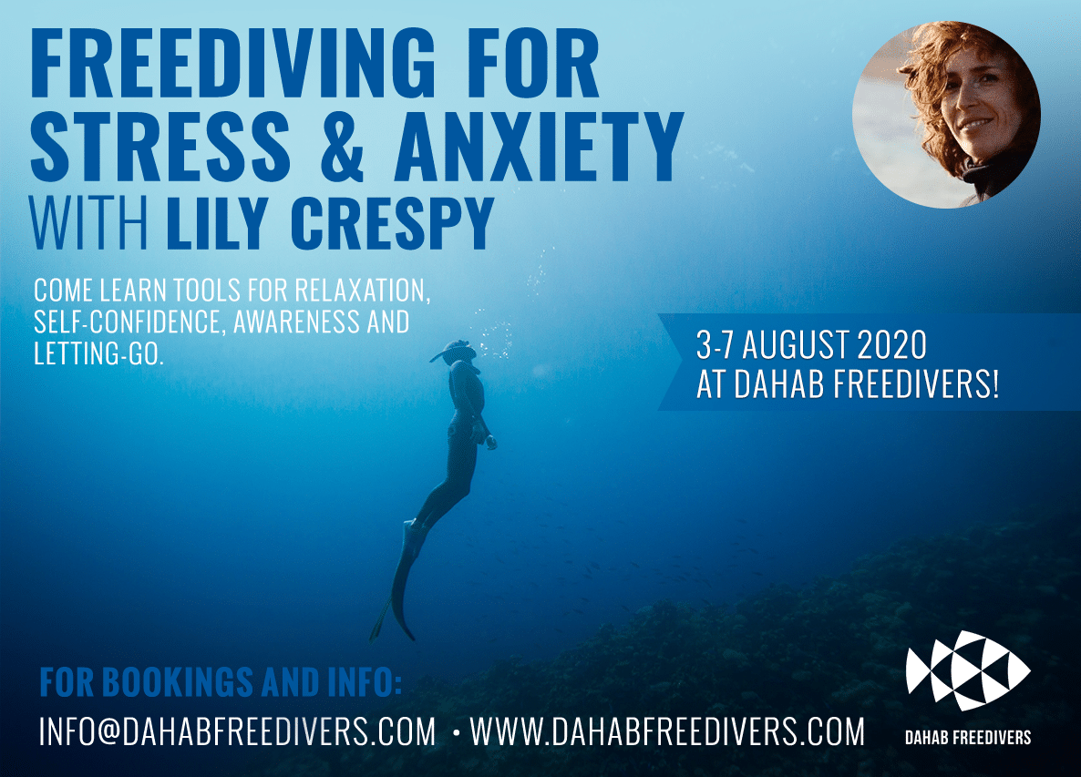 Freediving For Stress and Anxiety Course Announced
