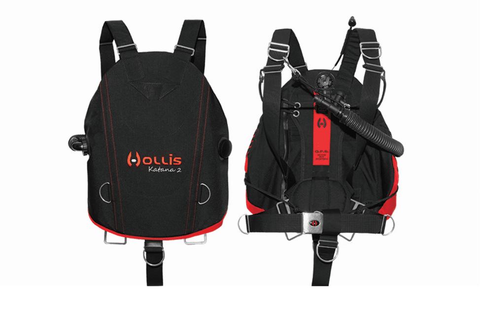 Hollis Unveils Katana 2 Sidemount BCD