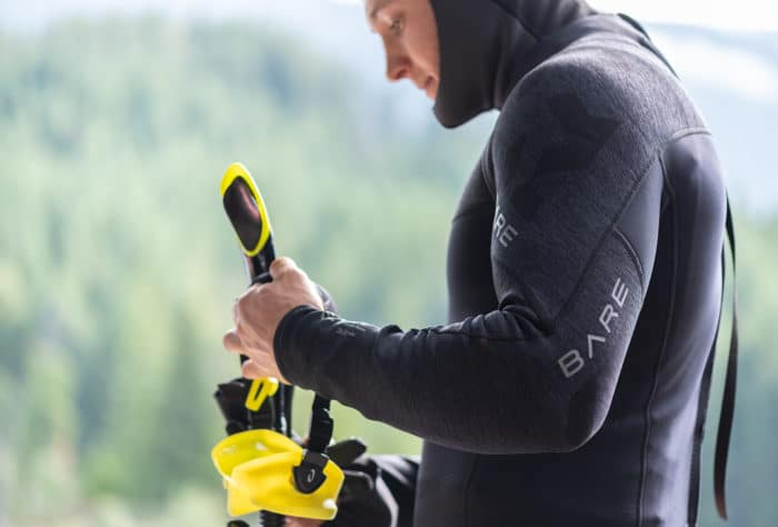 BARE's newest entry-level offering - the Elate wetsuit