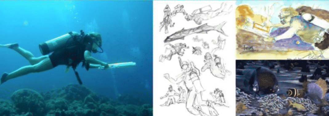Aquasketch To Sponsor Cozumel Dive And Draw Experience