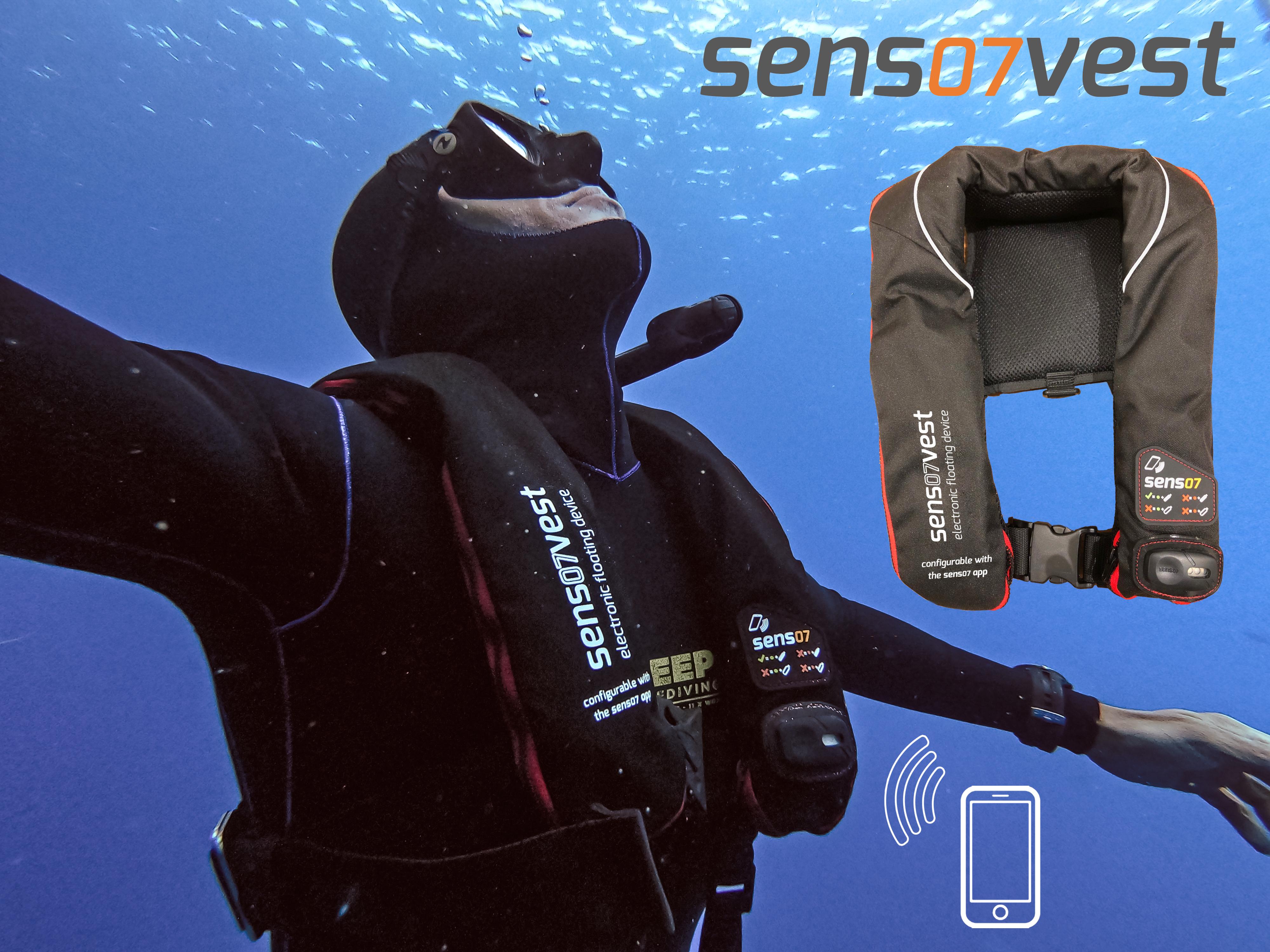 New Sens07vest Freediving Vest Unveiled