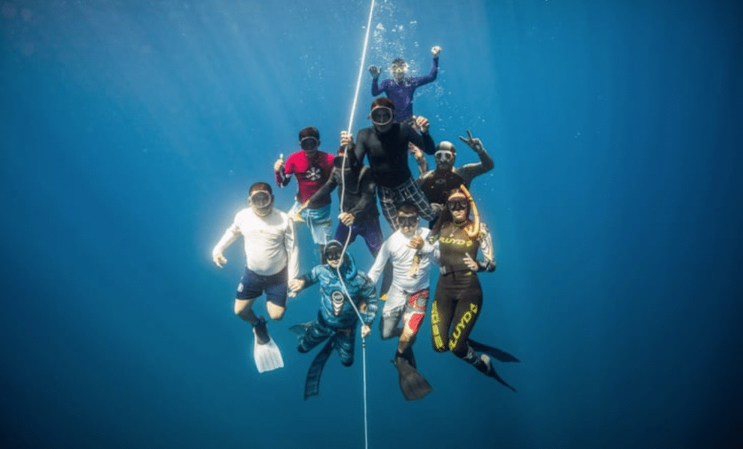 EL Salvador Forms National Freediving Team