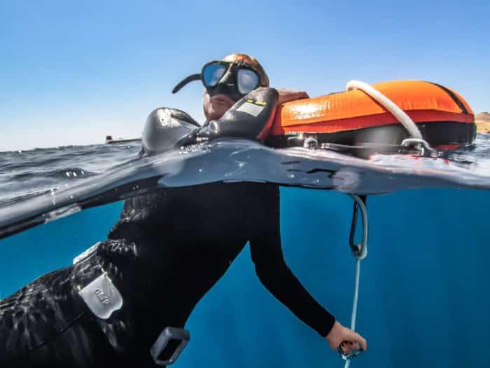 freediving DCS decompression