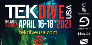 TekDiveUSA Rescheduled To April 2021