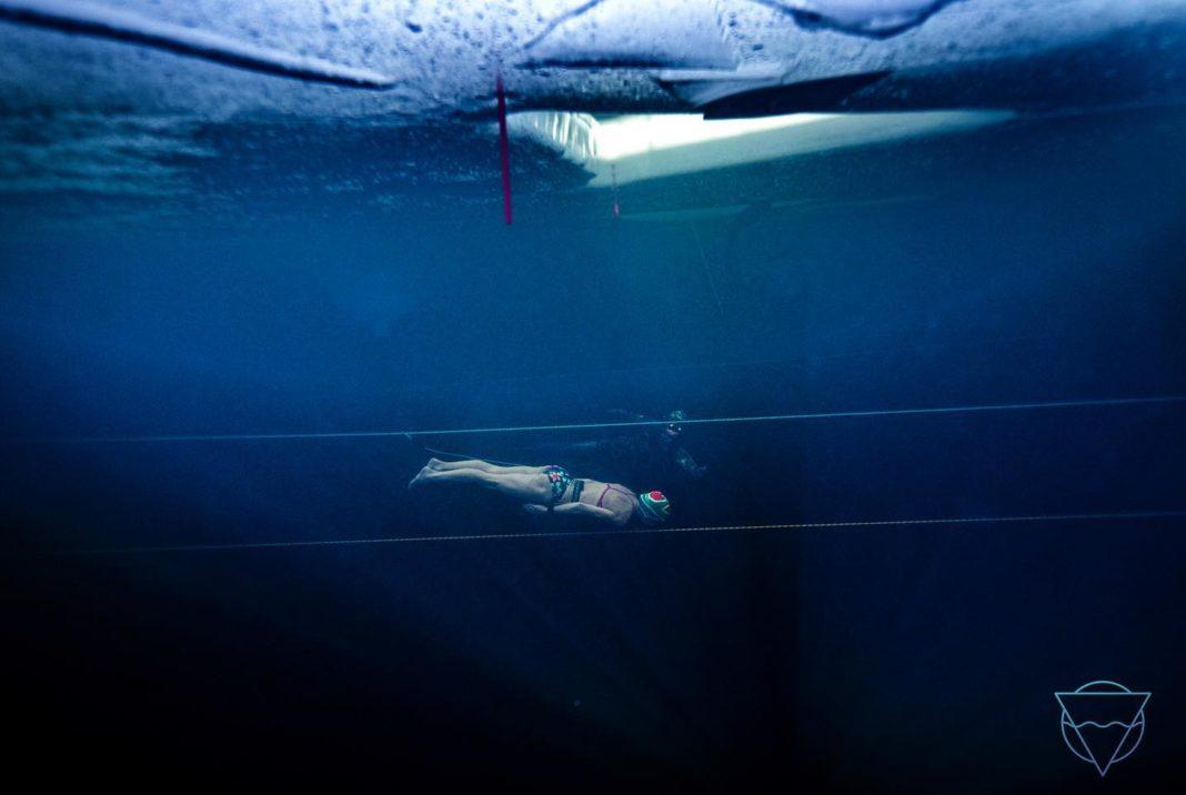 Amber Fillary Breaks Guinness World Record For Longest Swim Under Ice (Image credit: Aleksander Nordahl)