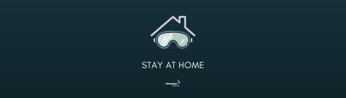 Stay At Home - Banner - DeeperBlue.com