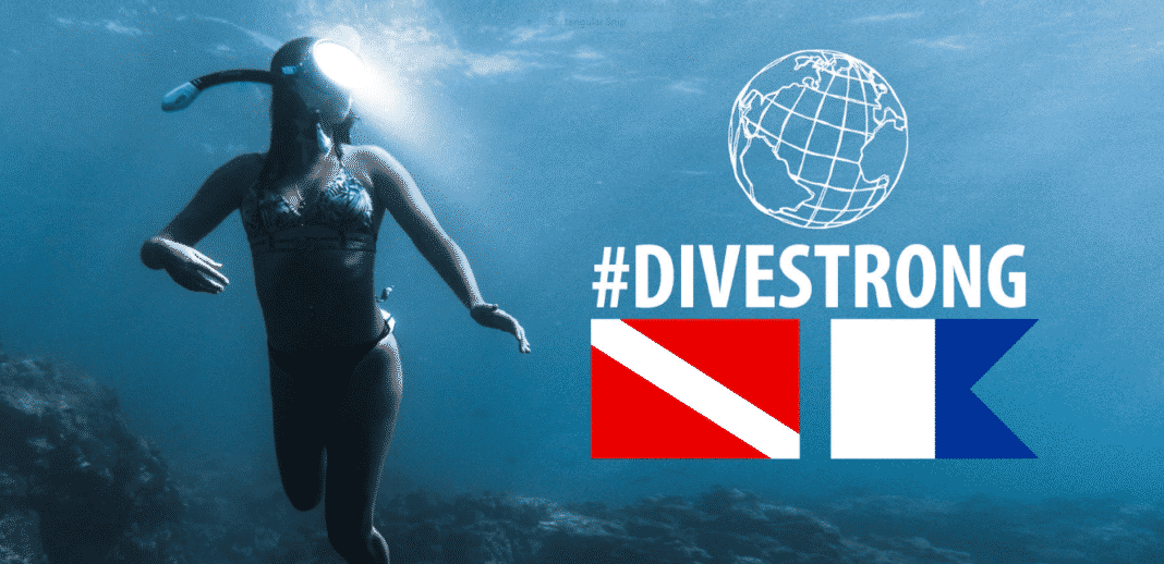 #DiveStrong