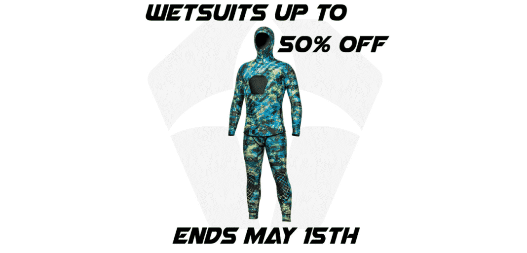 JBL Spearguns Offering 50% Discount On Wetsuits
