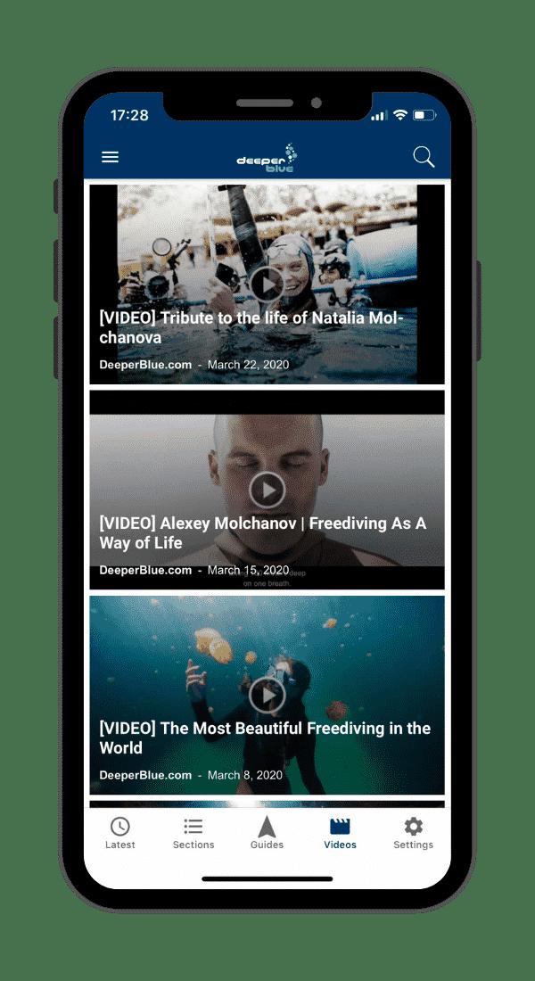 DeeperBlue.com App - Video Of The Week