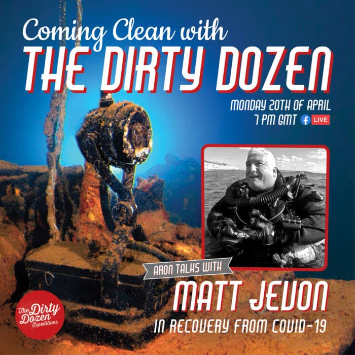 Dirty Dozen Expeditions Launch New Live Broadcast During COVID-19 Lockdown