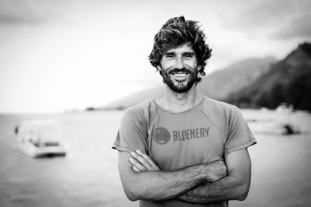 Guillaume Néry, World Champion Freediver and the Nery in Bluenery.