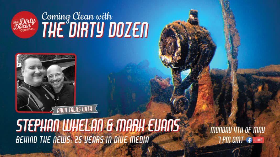 Scuba Diver and DeeperBlue.com 'Coming Clean' with The Dirty Dozen