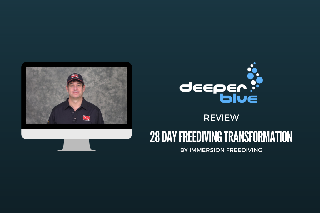 Review: 28 Day Freediving Transformation by Immersion Freediving