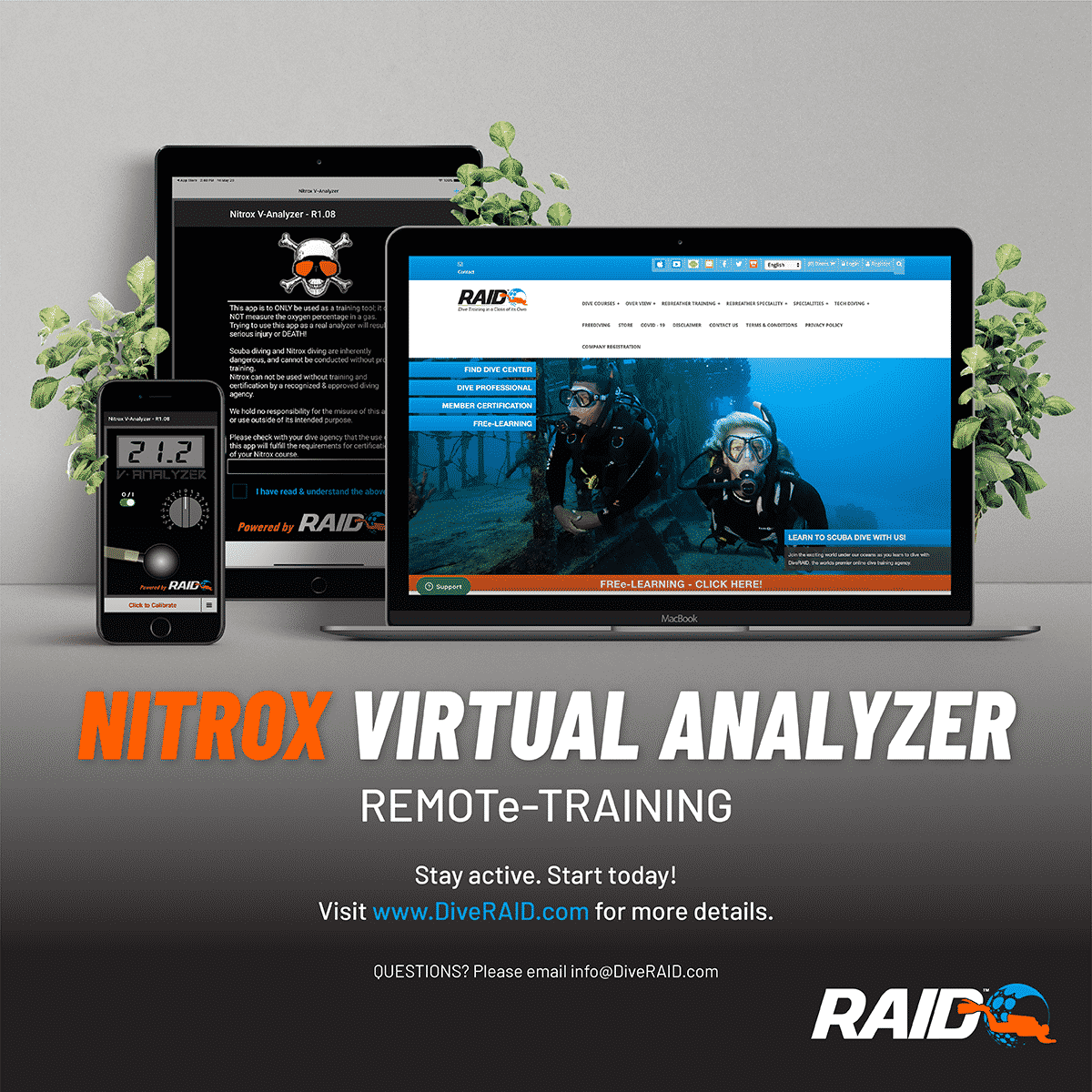 RAID's Virtual Analyzer App