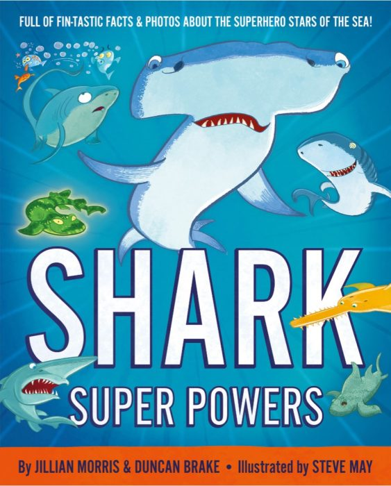 Shark Super Powers cover art