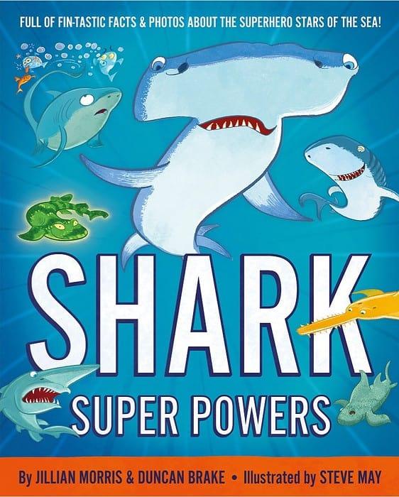 Shark Super Powers cover art