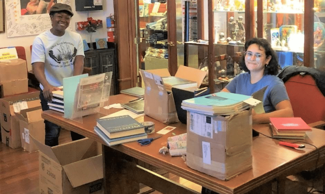 Vintage Book Sale through History of Diving Museum