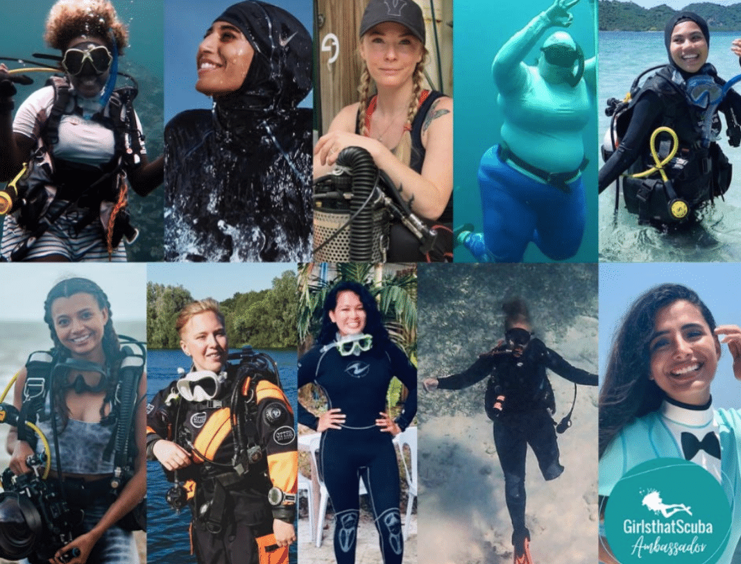 Girls That Scuba announces their first ever ambassadors