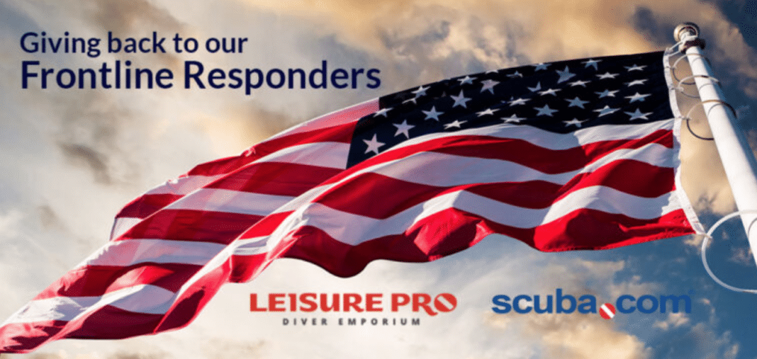Scuba.com, Leisure Pro Offering Discount To First Responders
