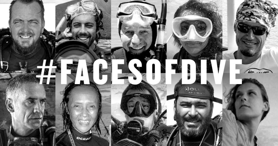 BARE Faces of Dive Social Media Campaign
