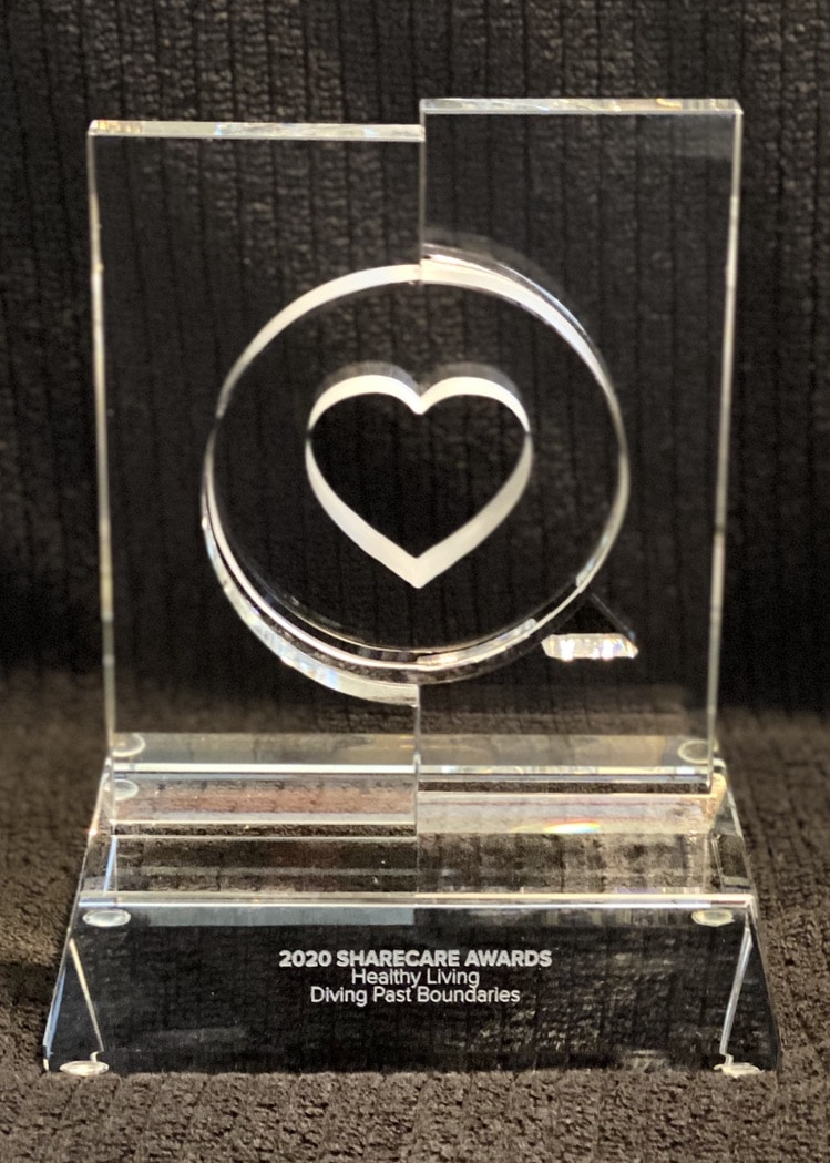 Diveheart's ShareCare Award