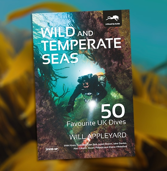 Wild and Temperate Seas: 50 Favourite UK Dives by Will Appleyard