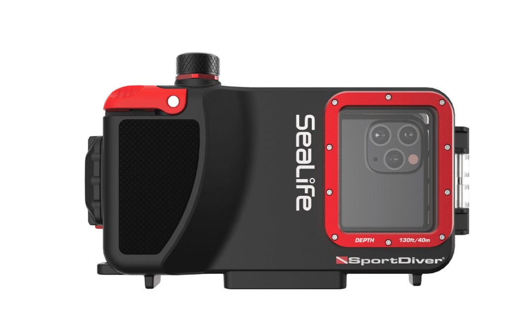 the new SportDiver iPhone housing from SeaLife