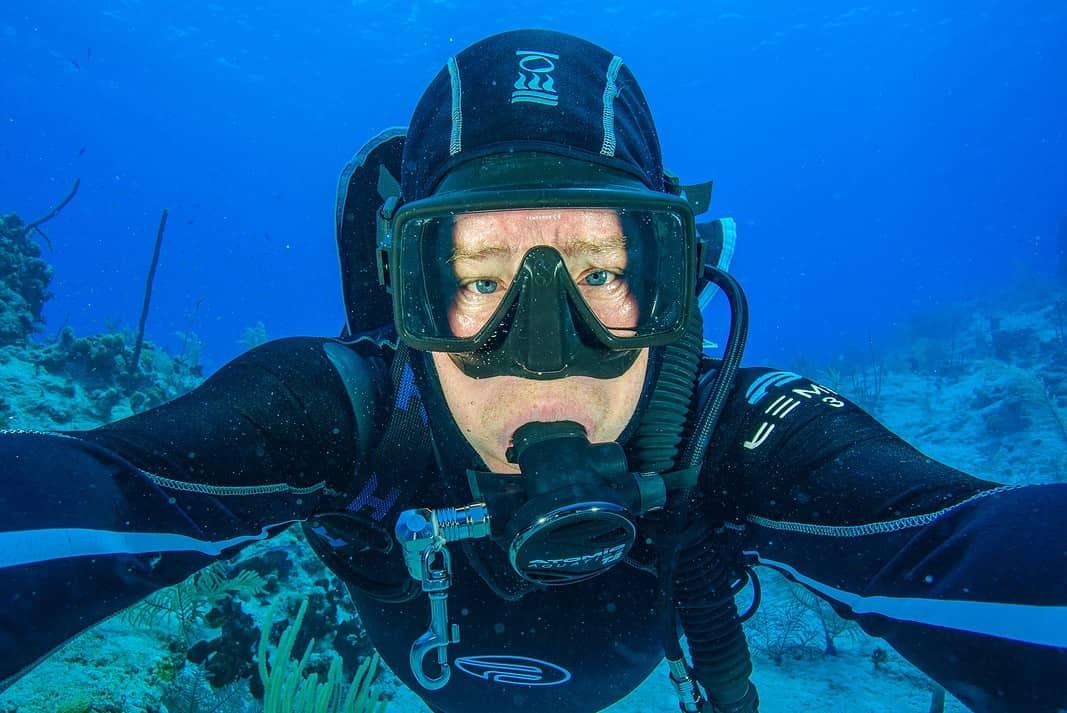 Bahamas Dive Ambassador Adam Hanlon