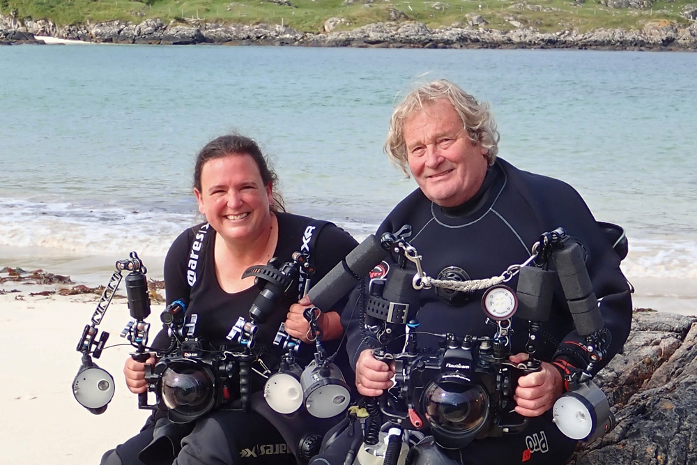 Bahamas Dive Ambassadors Caroline and Nick Brown