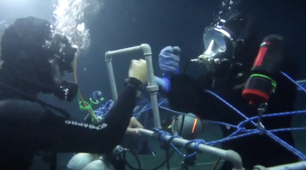 Scuba Diver Claims To Set New, 145-Hour Underwater World Record