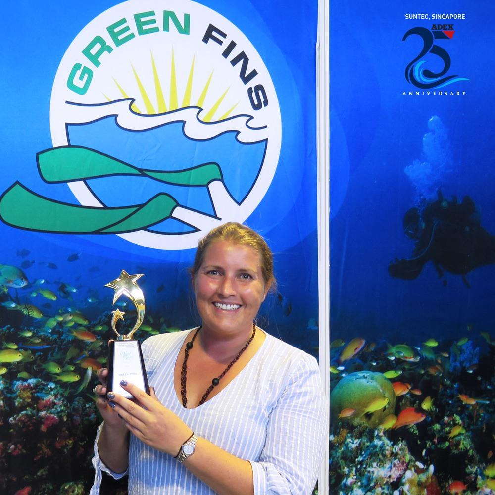 Green Fins Award Winner Rosie Cotton, Tioman Dive Center