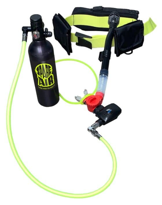 Spare Air Unveils The Xtreme 6 Mini Scuba Set