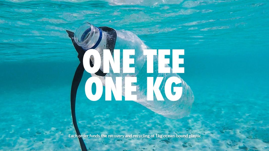Buy A Tee, Remove 1kg of Ocean-Bound Plastic