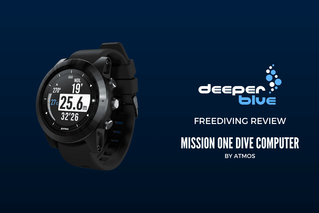 Review_ Mission One Dive Computer by Atmos - FREEDIVING