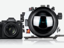 Ikelite 200DL housing for Sony a1 camera
