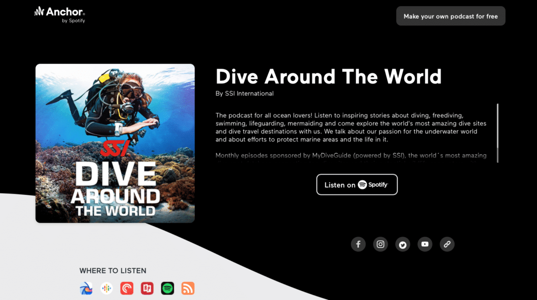 SSI's New 'Dive Around The World' podcast
