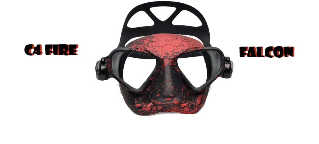 Neptonics' C4 FALCON Freediving Mask