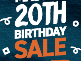 Adreno Freediving Holding 20th Birthday Sale