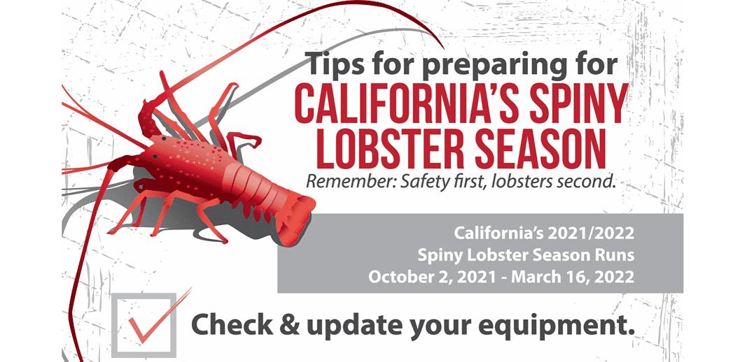California Spiny Lobster Season Poster